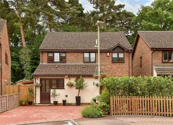 Thumbnail 4 bed detached house for sale in Holme Close, Crowthorne, Berkshire