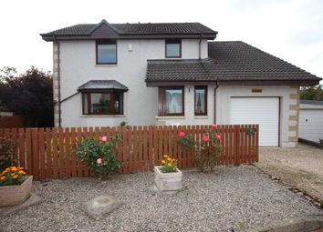 Thumbnail 4 bed detached house for sale in Mannachie Grove, Forres