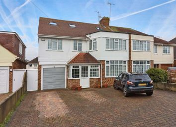 5 bed semi-detached house for sale in Trent Road, Goring-By-Sea, Worthing BN12