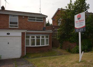 Thumbnail 3 bedroom semi-detached house to rent in Nevis Court, Compton, Wolverhampton