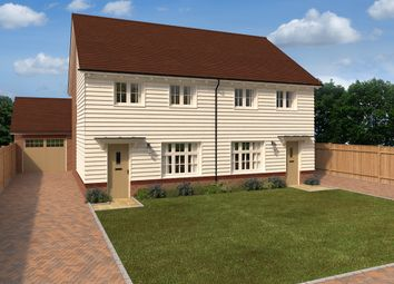 Thumbnail 3 bed semi-detached house for sale in Roman Way, Strood