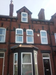 Thumbnail 4 bedroom terraced house to rent in Walmsley Road, Hyde Park, Leeds