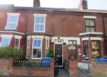 Thumbnail 3 bedroom terraced house for sale in Rosebery Road, Norwich