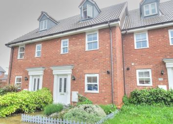 Thumbnail 3 bed town house for sale in Evora Road, Wymondham