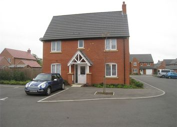 Thumbnail 3 bed end terrace house for sale in Harebell Court, Lutterworth, Leicestershire