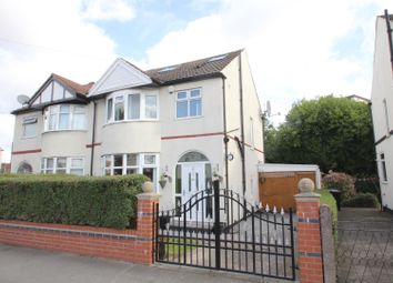 Thumbnail 4 bed semi-detached house for sale in Ravenswood Road, Stretford, Manchester