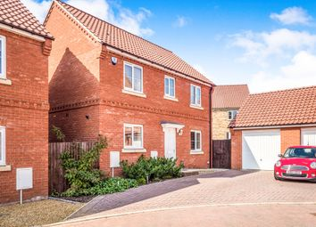 Thumbnail 3 bed detached house for sale in Peabody Road, Aylsham, Norwich