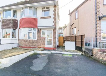 Thumbnail 3 bedroom semi-detached house for sale in Valiant Avenue, Plymouth