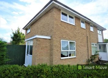 Thumbnail 3 bed end terrace house for sale in Medeswell, Orton Malborne, Peterborough, Cambridgeshire.