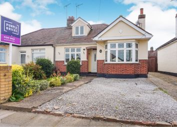 Thumbnail 2 bed semi-detached bungalow for sale in Thornford Gardens, Southend-On-Sea