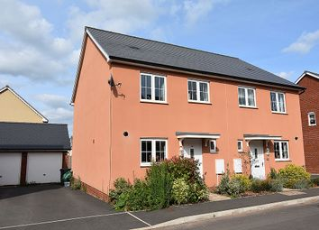 3 bed semi-detached house for sale in Seldon Crescent, Hillside Gardens, Exeter EX1