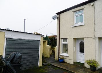 Thumbnail 2 bed end terrace house for sale in Station Road, Tredegar, Blaenau Gwent.