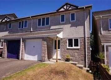 Thumbnail Semi-detached house for sale in Kilmar Road, Liskeard, Cornwall