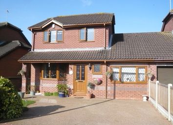Thumbnail 4 bed detached house for sale in Meadow View, Brundall, Norwich