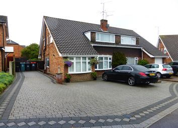 Thumbnail 4 bedroom semi-detached house for sale in Lambs Close, Dunstable