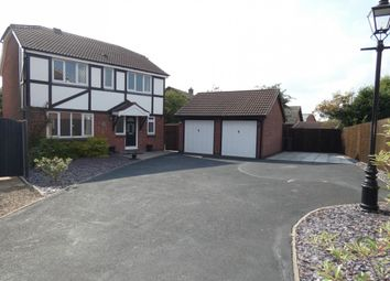 Thumbnail 4 bed detached house for sale in Wakefield Drive, Coalville, 5