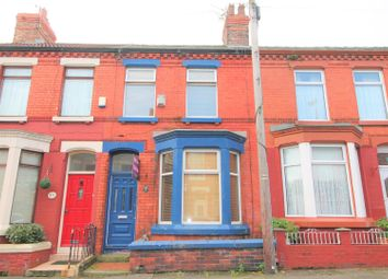 Thumbnail 3 bed terraced house for sale in Homerton Road, Liverpool