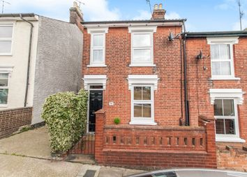 Thumbnail 2 bed end terrace house for sale in Suffolk Road, Ipswich
