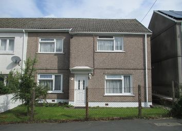 Thumbnail 3 bed semi-detached house for sale in Heol Eglwys, Coelbren, Neath.