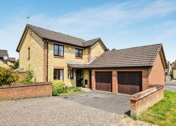 Thumbnail 4 bed detached house to rent in Foxdown Close, Kidlington
