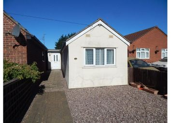 Thumbnail 2 bed detached bungalow for sale in Hundred Road, March