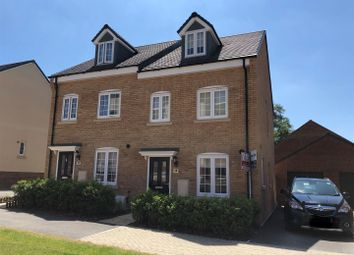 Thumbnail 3 bed town house for sale in Abacot Grove, Houghton Regis, Dunstable