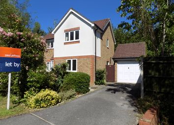 Thumbnail 3 bed detached house to rent in Rockery Close, Dibden