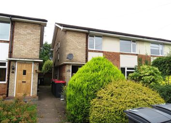 Thumbnail 2 bed maisonette to rent in Vesey Close, Water Orton, Birmingham