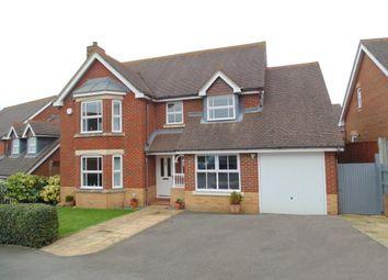 Thumbnail 4 bed detached house for sale in Skylark Close, Basingstoke