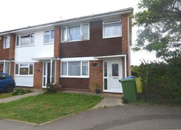Thumbnail 3 bed terraced house to rent in Denham Close, Stubbington, Fareham