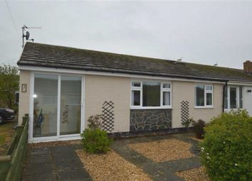 Thumbnail 2 bed semi-detached bungalow for sale in 13, Cantref, Tywyn, Gwynedd