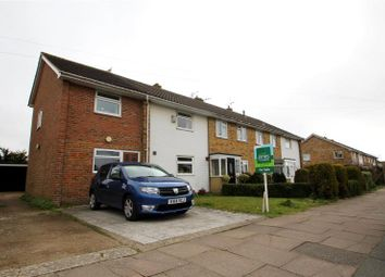 Thumbnail End terrace house for sale in Bellview Road, Tarring, Worthing