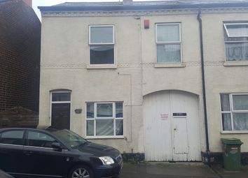 Thumbnail 3 bed end terrace house to rent in Arundel Street, Walsall, West Midlands