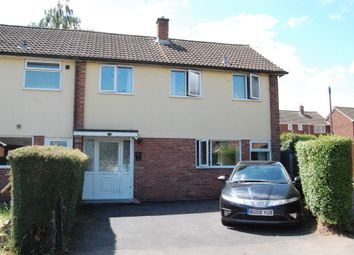 Thumbnail 3 bed end terrace house for sale in Maidstone Close, Hereford