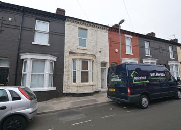 Thumbnail 3 bed terraced house to rent in Alfonso Road, Kirkdale, Liverpool