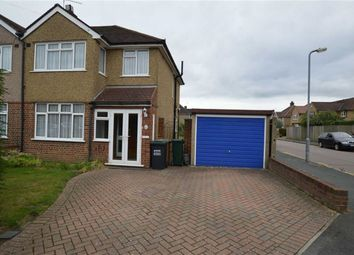 Thumbnail 3 bed semi-detached house for sale in Manor Way, Croxley Green, Rickmansworth Hertfordshire