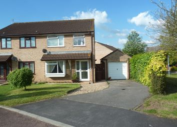 Thumbnail 3 bed semi-detached house for sale in Kabale Close, Tiverton