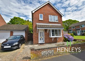 Thumbnail 3 bed detached house for sale in Petre Close, North Walsham