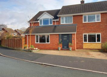 Thumbnail 5 bed semi-detached house for sale in The Lawns, Rolleston-On-Dove, Burton-On-Trent