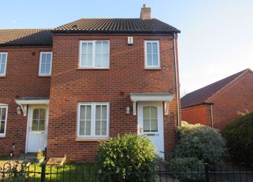 Thumbnail End terrace house for sale in Worthington Road, Fradley, Lichfield