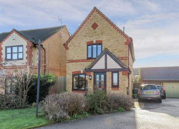 Thumbnail 3 bed detached house for sale in Grovebury Court, Wootton, Bedford
