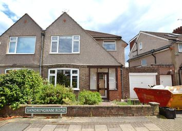 Thumbnail 3 bed semi-detached house for sale in Sandringham Road, Downham, Bromley