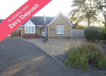 Thumbnail 2 bed bungalow to rent in Olivers Way, March