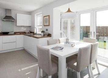 "Thumbnail 3 bed detached house for sale in ""Andover"" at Glebe Road, Loughor, Swansea"