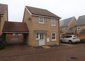 Thumbnail 3 bed detached house for sale in Mars Drive, Biggleswade, Bedfordshire