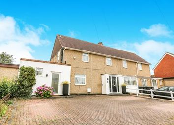 Thumbnail 3 bed semi-detached house for sale in Wingate Road, Harlington, Dunstable, Bedfordshire