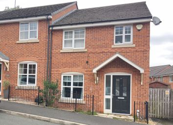 Thumbnail 3 bed mews house for sale in Longshaw Close, Lower Crumpsall, Manchester
