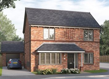 """Thumbnail 4 bed detached house for sale in """"The Kintbury"""" at Skinner Street, Creswell, Worksop"""
