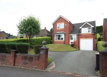 Thumbnail 4 bed detached house for sale in Congleton Road, Mow Cop, Stoke-On-Trent