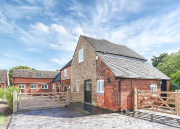 Thumbnail 5 bed barn conversion for sale in Woodhouses, Melbourne, Derbyshire